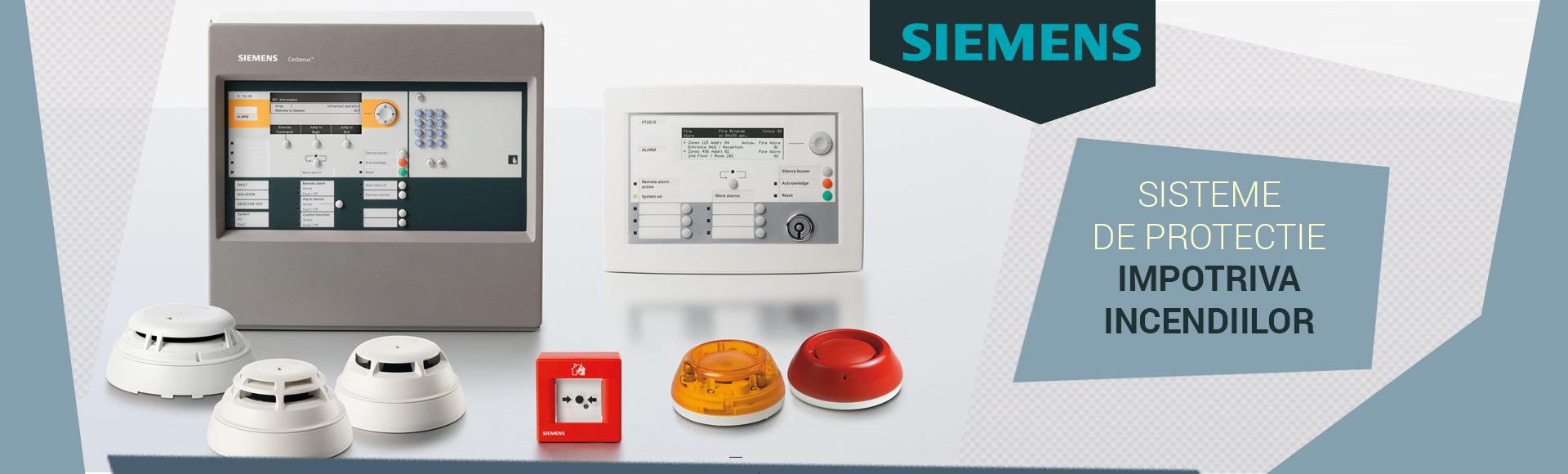 SET COMPLET SIEMENS IC60M CU SIRENA DE EXTERIOR 1100 LEI + TVA