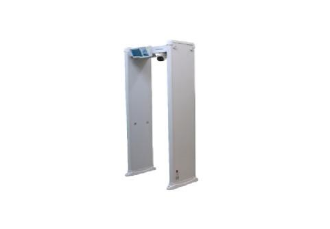 Poarta detectoare de metal si masurare temperatura HIKVISION ISD-SMG318LT-F